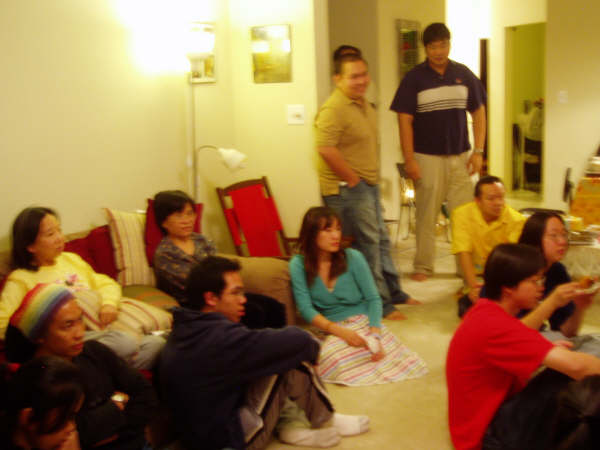 Thanks Giving Party in 2005