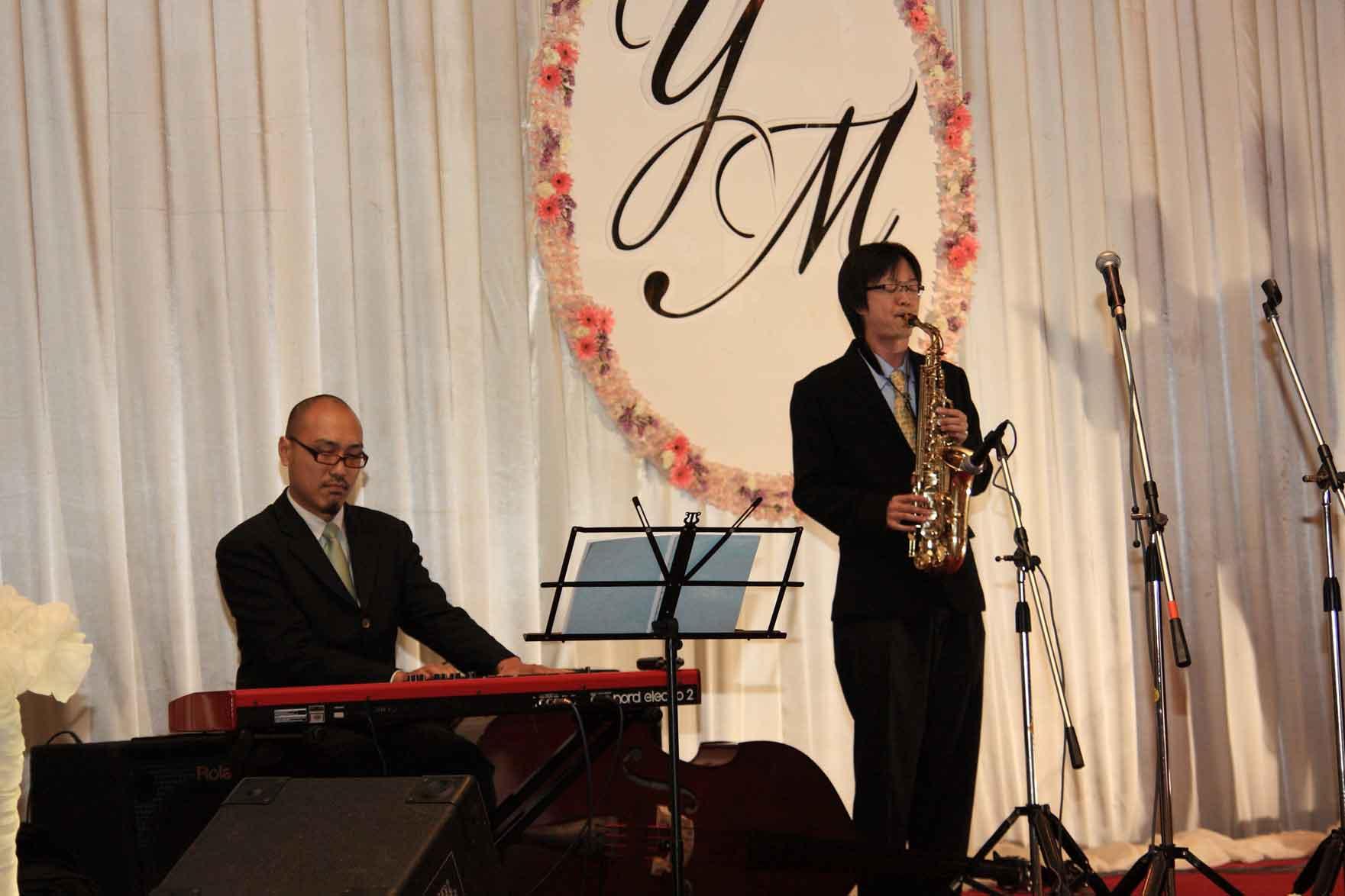 วงบรรเลงคู่ Saxophone + Piano