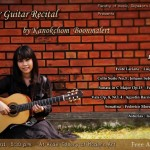 Senior Guitar Recital by Kanokchom Boonmalert